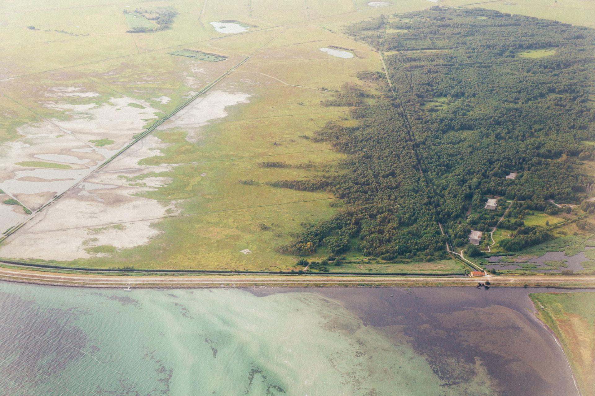 Stien på Amagers sydvestligste del