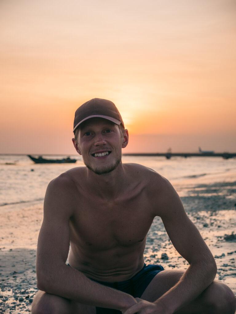 Bali solnedgang