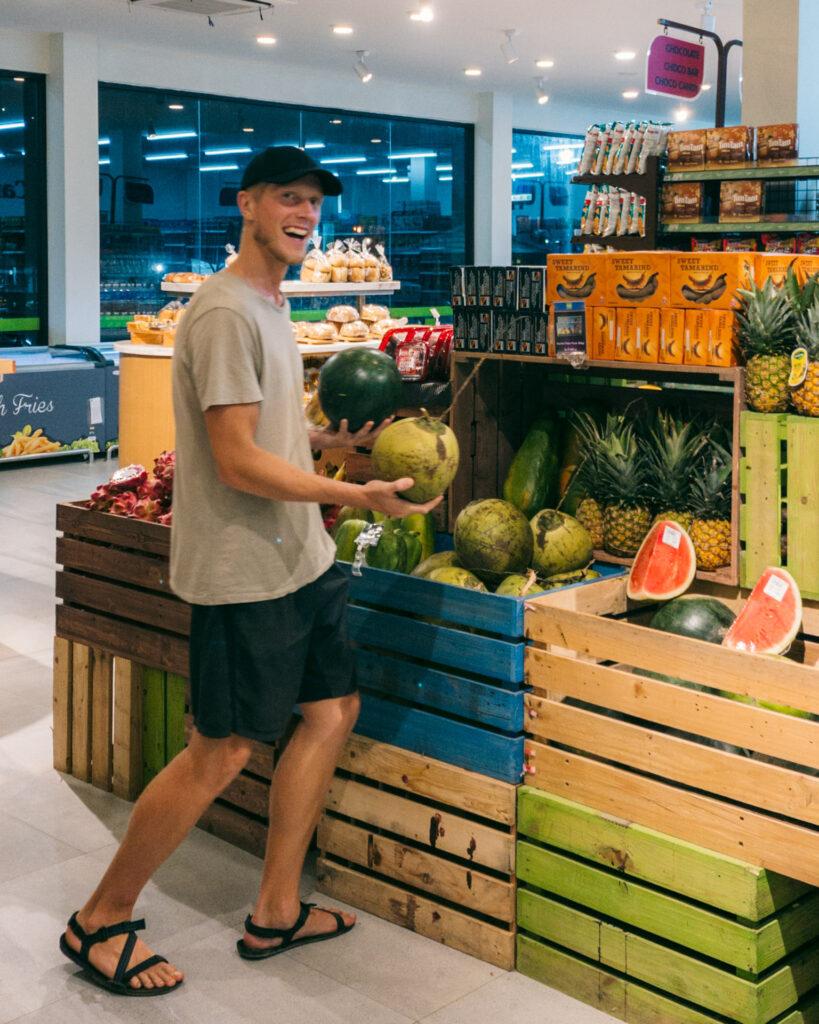 Man har kun de frugter, man selv jonglerer