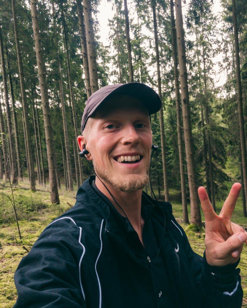 Lange løb i de skånske skove